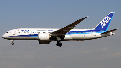 JA824A - Boeing 787-8 Dreamliner - All Nippon Airways (ANA)