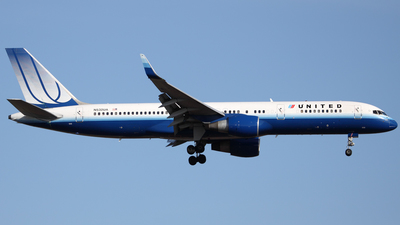 N532UA - Boeing 757-222 - United Airlines