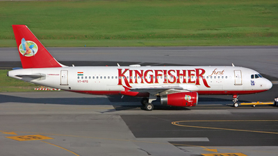 VT-KFG - Airbus A320-232 - Kingfisher Airlines