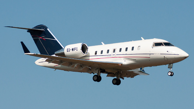 EI-WFI - Bombardier CL-600-2B16 Challenger 605 - Westair Aviation