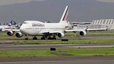 F-GITE - Boeing 747-428 - Air France