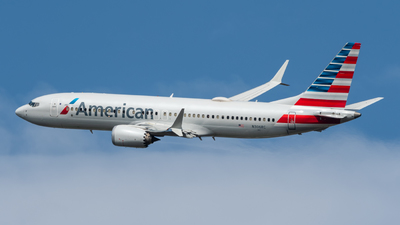 A picture of N306RC - Boeing 737 MAX 8 - American Airlines - © Juan Pablo MS
