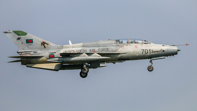 2701 - Chengdu FT-7BGI - Bangladesh - Air Force