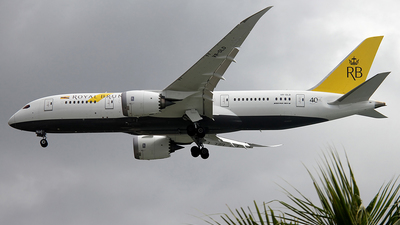 V8-DLD - Boeing 787-8 Dreamliner - Royal Brunei Airlines