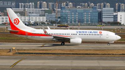 B-5842 - Boeing 737-86N - OK Air