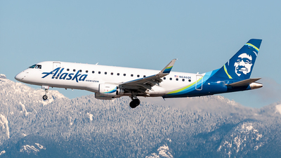 A picture of N646QX - Embraer E175LR - Alaska Airlines - © Todd Martin