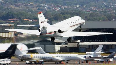 A picture of N339QS - Cessna 680 Citation Sovereign - NetJets - © Jorge andres solano sancho