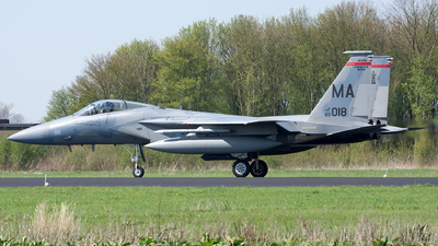 83-0018 - McDonnell Douglas F-15C Eagle - United States - US Air Force (USAF)