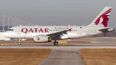 A7-HHJ - Airbus A319-133X(CJ) - Qatar - Amiri Flight