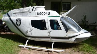 N9004U - Bell OH-58C Kiowa - Harris County Sheriffs Office