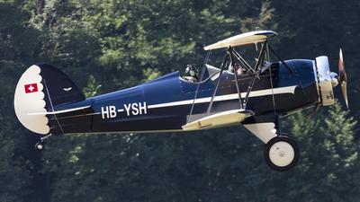 HB-YSH - Hatz CB-1 - Private