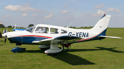 G-XENA - Piper PA-28-161 Cherokee Warrior II - Private