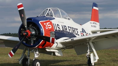 N1328B - North American T-28B Trojan - Private