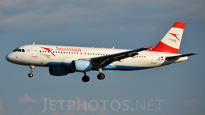 OE-LBS - Airbus A320-214 - Austrian Airlines (Tyrolean Airways)