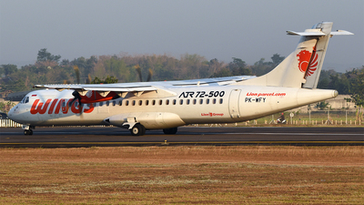 PK-WFY - ATR 72-212A(500) - Wings Air