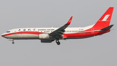 B-5460 - Boeing 737-86D - Shanghai Airlines