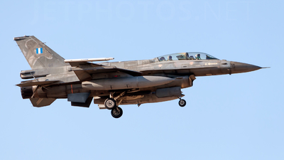 611 - General Dynamics F-16D Fighting Falcon - Greece - Air Force