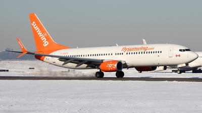 C-GBZS - Boeing 737-8SH - Sunwing Airlines