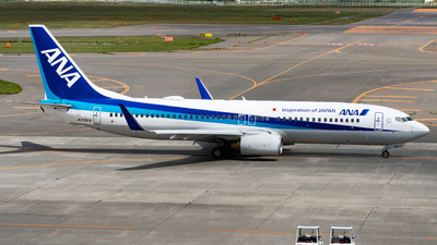 A picture of JA59AN - Boeing 737881 - All Nippon Airways - © shiroiruka