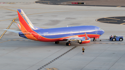 A picture of N388SW - Boeing 7373H4 - [26591] - © Felipe Garcia