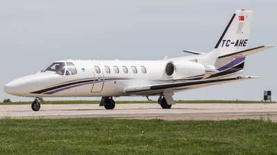 TC-AHE - Cessna 550B Citation Bravo - TAHE Aviation