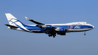 VQ-BUU - Boeing 747-4EVERF - Air Bridge Cargo