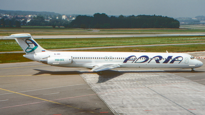 SL-ABD - McDonnell Douglas MD-82 - Adria Airways