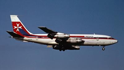 9H-AAN - Boeing 720-040B - Air Malta
