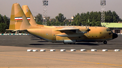 5-8553 - Lockheed C-130E Hercules - Iran - Air Force