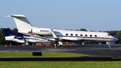 N550AA - Gulfstream G550 - Private