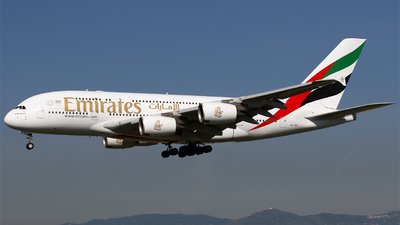 A6-EOL - Airbus A380-861 - Emirates