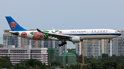 A picture of B8870 - Airbus A330323 - China Southern Airlines - © Peteryang