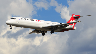 VH-NXJ - Boeing 717-2BL - QantasLink (National Jet Systems)