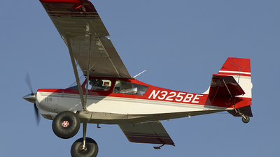 N325BE - American Champion 8GCBC Scout - Private