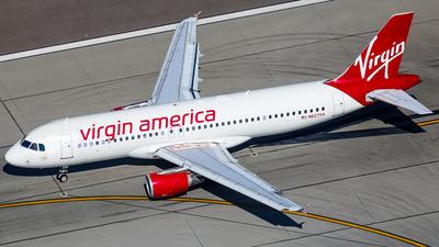 N627VA - Airbus A320-214 - Virgin America