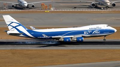 A picture of VPBIG - Boeing 74746NF(ER) - AirBridgeCargo Airlines - © Jubilant Chan - AHKGAP