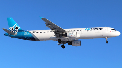 A picture of CGEZO - Airbus A321211 - Air Transat - © Guy Langlois