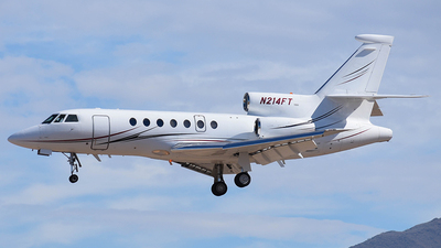 N214FT - Dassault Falcon 50 - Private