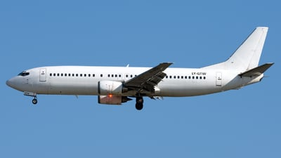 LY-GTW - Boeing 737-4Q8 - GetJet Airlines