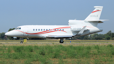 OO-DOB - Dassault Falcon 900LX - Flying Group