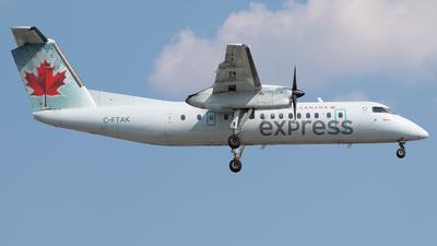 A picture of CFTAK - De Havilland Canada Dash 8300 - Air Canada - © Charlie Sun