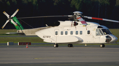 EZ-S721 - Sikorsky S-92A Helibus - Turkmenistan - Government