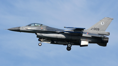 J-009 - General Dynamics F-16AM Fighting Falcon - Netherlands - Royal Air Force
