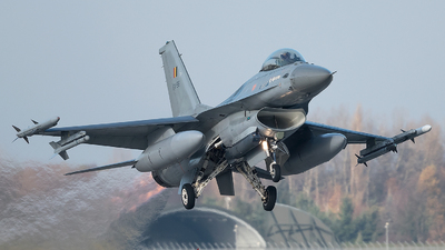 FA-56 - General Dynamics F-16AM Fighting Falcon - Belgium - Air Force