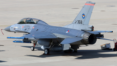 J-368 - General Dynamics F-16BM Fighting Falcon - Netherlands - Royal Air Force