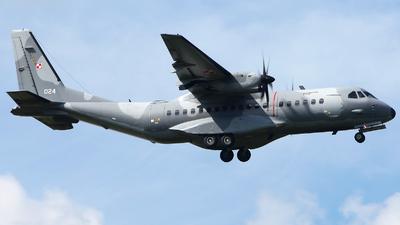 024 - CASA C-295M - Poland - Air Force