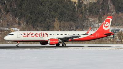 OE-LNZ - Airbus A321-211 - Air Berlin (Niki)