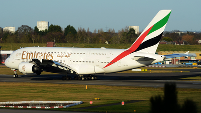 A6-EUP - Airbus A380-842 - Emirates