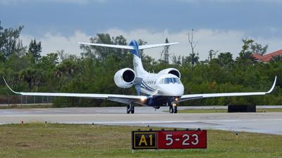 N622KH - Cessna 750 Citation X - Private