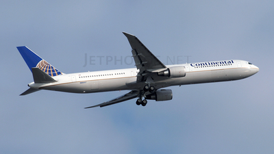 N66057 - Boeing 767-424(ER) - Continental Airlines